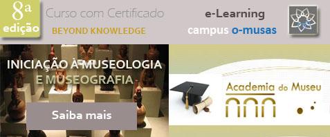 Banner divulgação Iniciação à Museologia e Museografia 8ª edição